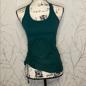 NWT Fabletics Cashel Curved Cinched tank, Size XXS